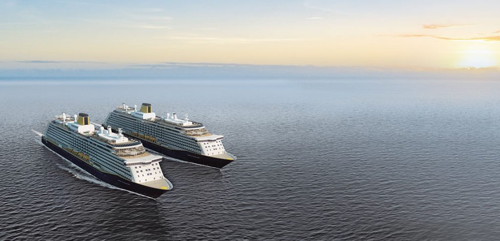 Two Saga Cruises Liners